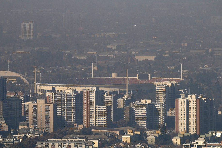 Santiago /SEBASTIAN SILVA   /PAP/EPA