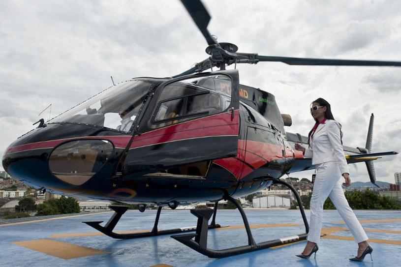 Sao Paulo to miasto helikopterów /AFP