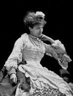 Sarah Bernhardt, fot. Tourtin, 1877 /Encyklopedia Internautica