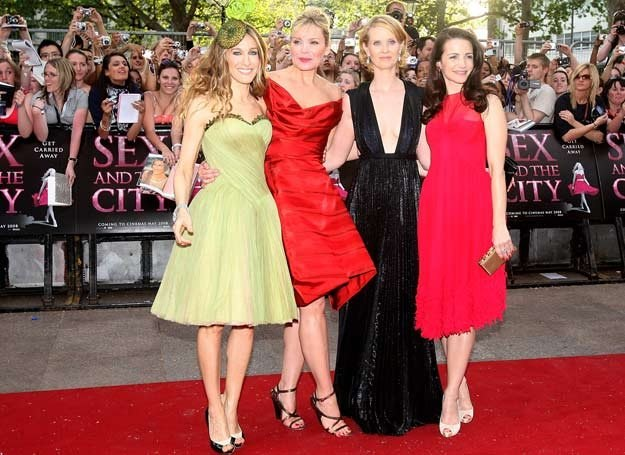 Sarah Jessica Parker, Kim Catrall, Cynthia Nixon i Kristin Davis /Getty Images/Flash Press Media