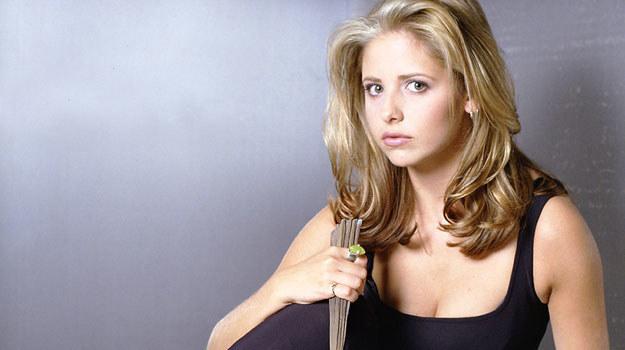 "Sarah Michelle Gellar - gwiazda ""Buffy: postrachu wampirów"" /materiały prasowe"