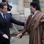 Sarkozy: Kaddafi zastawił na mnie pułapkę