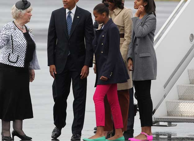 Sasha Obama /AFP