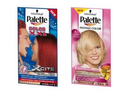 Saszetki koloryzujące Palette Instant Color lub Palette Color XXL Xcite /materiały prasowe