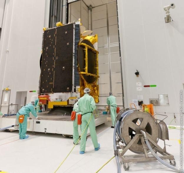 Satelita ASTRA 5B Fot. ArianeSpace /materiały prasowe