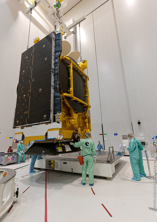 SES: Udane wyniesienie satelity ASTRA 5B na pokładzie rakiety Ariane ...