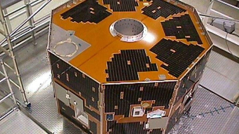 Satelita IMAGE przed startem w 2000 r. /NASA