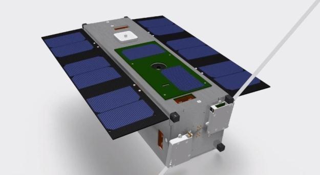 Satelita poleci w przestrzeń w grudniu tego roku.  Fot. Surrey Satellite Technology /materiały prasowe