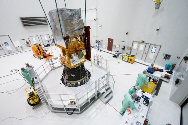 Satelita Sentinel 2A. Fot. ESA /materiały prasowe