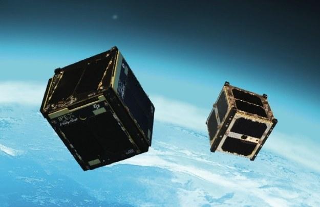 Satelity M-Cubed/COVE-2 - wizualizacja /NASA