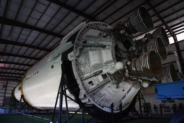 Saturn V - korzystający z rosyjskich silników RD-180 /AFP