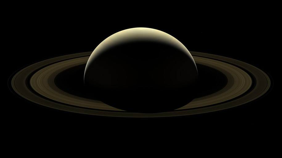 Saturn /NASA/JPL-Caltech/Space Science Institute /Materiały prasowe