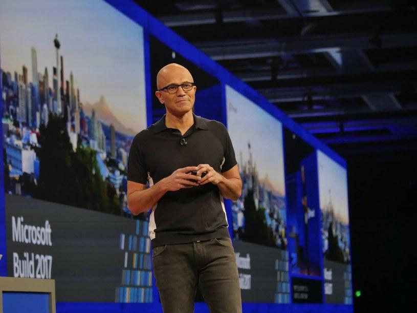 Satya Nadella, CEO Microsoftu /materiały prasowe