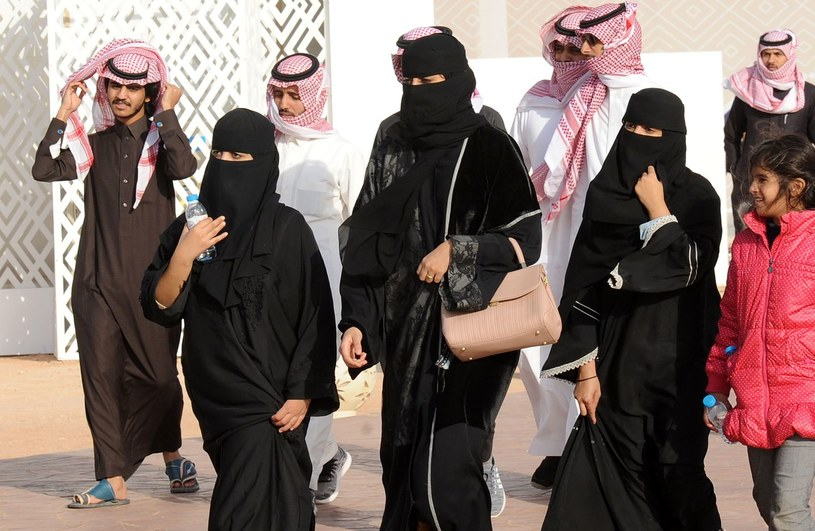 Saudyjczycy /FAYEZ NURELDINE /AFP
