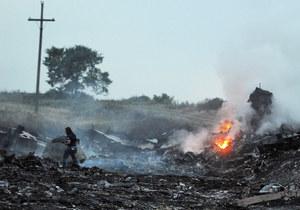 SBU: Separatyści ukrywają rejestratory zestrzelonego samolotu. Opublikowano nagrania