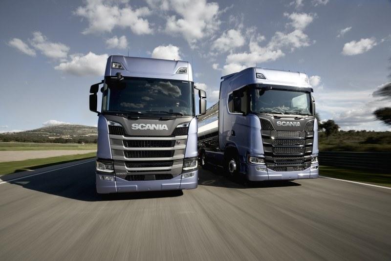 Scania efektownie wprowadza na rynek nowy model /