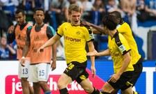 Schalke 04 Gelsenkirchen - Borussia Dortmund 2-2 w 29. kolejce Bundesligi