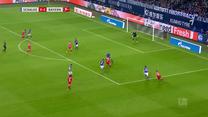 Schalke - Bayern 0-3. Bramka Lewandowskiego. Wideo