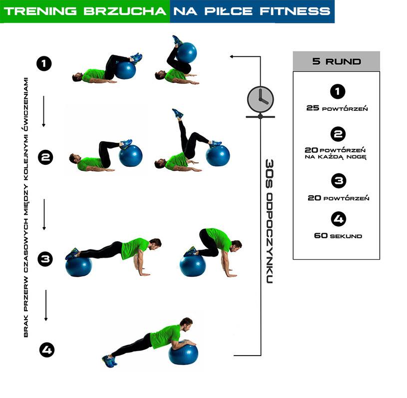 Schemat treningowy /INTERIA.PL