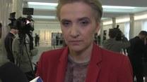 Scheuring-Wielgus (Nowoczesna) o szczerości życzeń na spotkaniu opłatkowym w Sejmie (TV Interia)