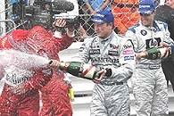 Schumacher, Raikkonen i Montoya /INTERIA.PL