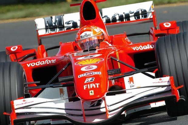 Schumacher rozbił Ferrari / Kliknij /AFP