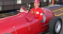 Schumacher w  Ferrari 375  z  1951 roku. Fot. EPA /INTERIA.PL