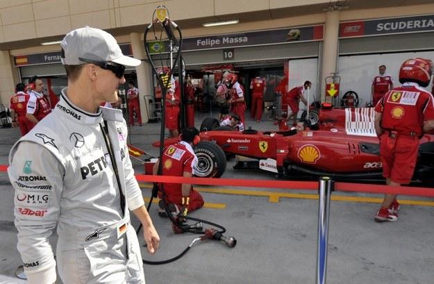 Schumacher zmienił obóz z włoskiego na niemiecki /AFP