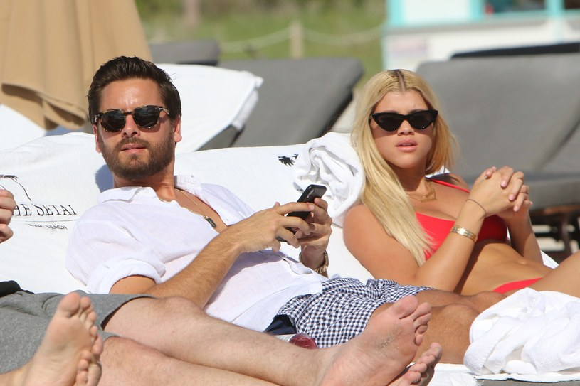 Scott Disick, Sofia Richie /East News