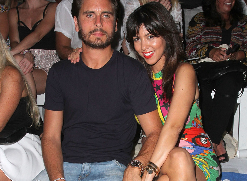 Scott Disick z byłą partnerką, Kourtney Kardashian /John Parra /Getty Images