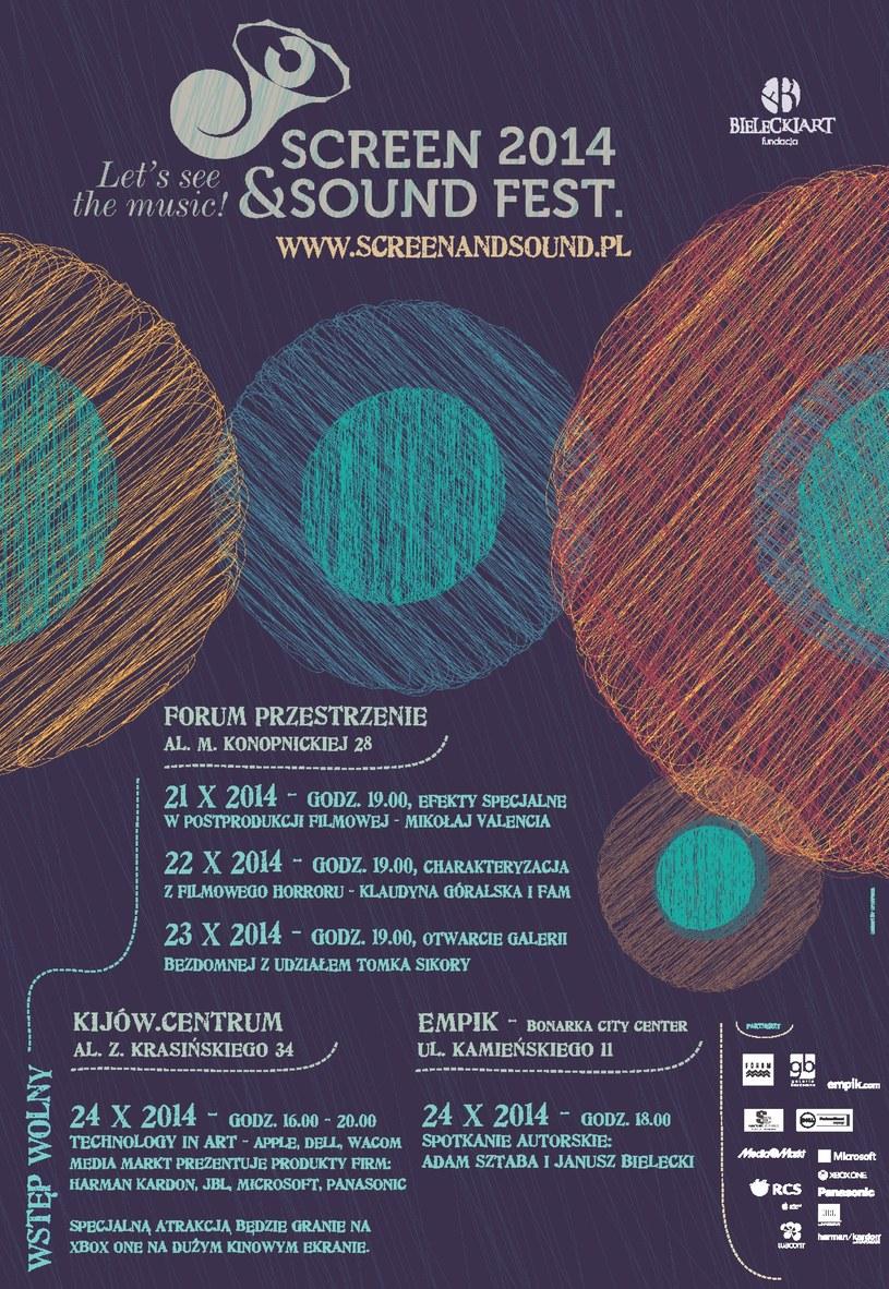 Screen & Sound Fest – Technology In Art – najnowocześniejsze techniki audio wideo w kinie KIJÓW /materiały prasowe