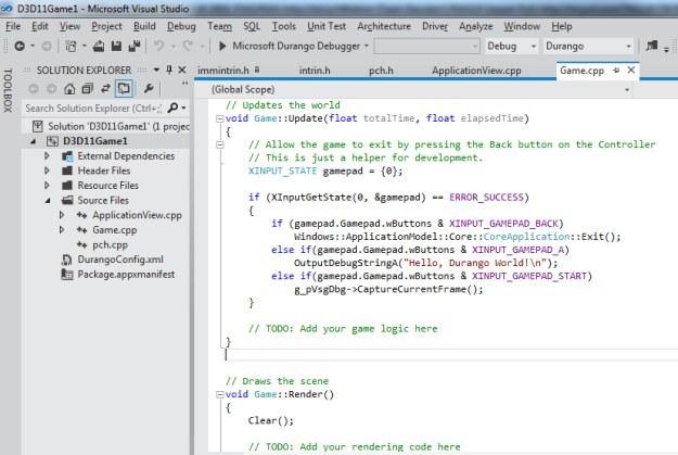 Screen programu Microsoft Visual Studio /CDA