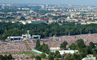 ŚDM: 800 tys. osób uczestniczyło w Drodze Krzyżowej z Franciszkiem