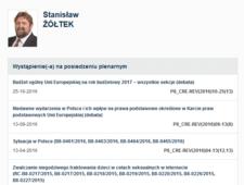 """""""SE"""": Najbardziej leniwy polski europoseł"""