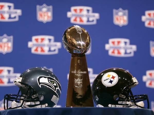 Seattle Seahawks i Pittsburgh Steelers będą walczyć o Vince Lombardi Trophy /AFP