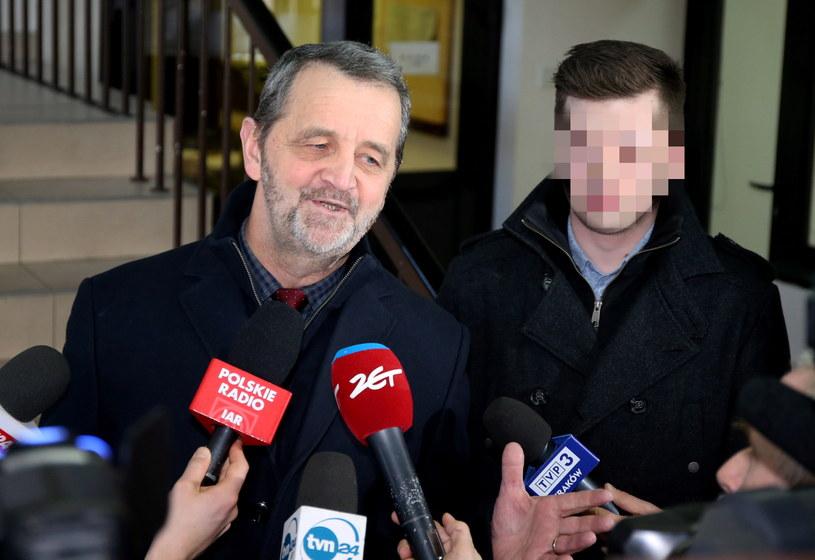 Sebastian K. (z prawej), chcąc nie chcąc, stał się jednym z głównych opozycjonistów rządu /Grzegorz Momot /PAP