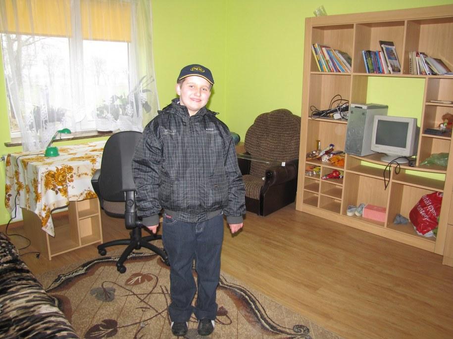 Sebastian ma swój pokój.  /Krzysztof Kot /RMF FM