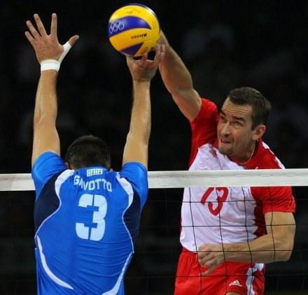 Sebastian Świderski w natarciu /AFP