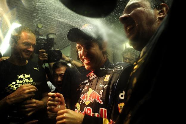 Sebastian Vettel - jeden z najpopularniejszych sportowców w Niemczech /AFP
