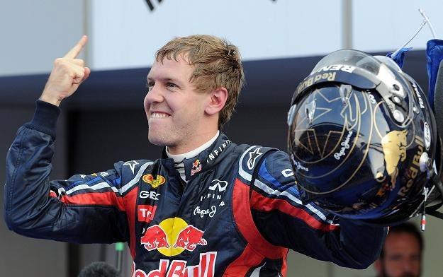 Sebastian Vettel, najlepszy w GP Korei /AFP