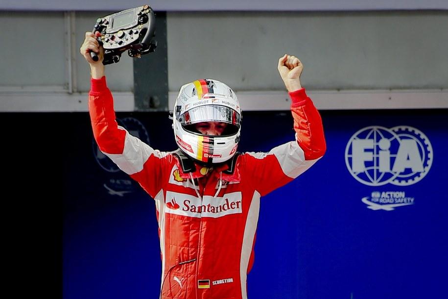 Sebastian Vettel wygrał wyścig o Grand Prix Malezji /DIEGO AZUBEL /PAP/EPA