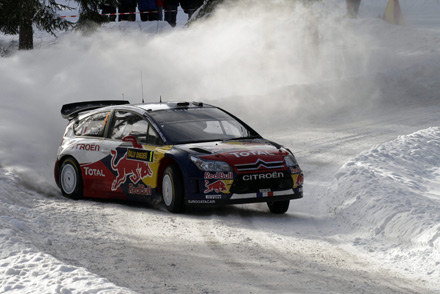 Sebastien Loeb (Citroen C4) /AFP