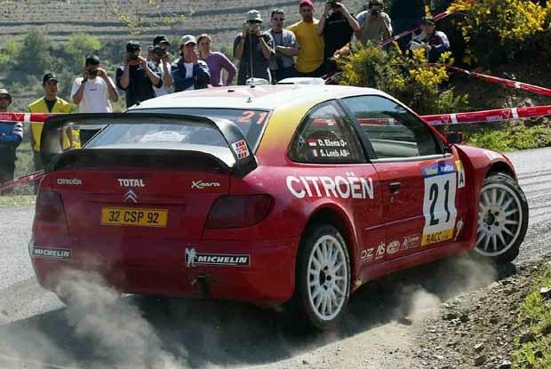 Sebastien Loeb już nie jedzie w Rajdzie Katalonii (kliknij) /INTERIA.PL