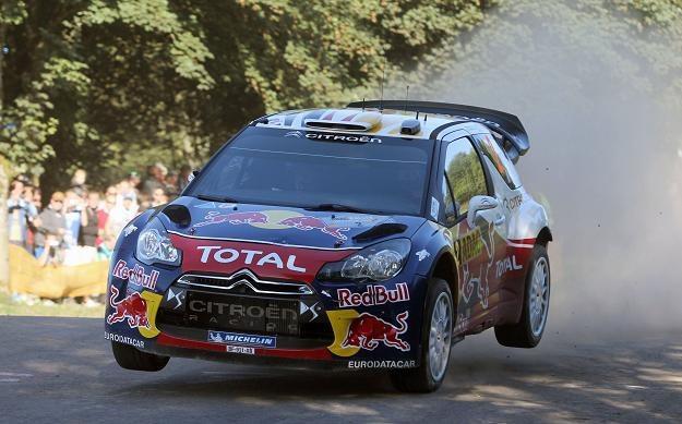 Sebastien Ogier w Citroenie DS3 WRC /AFP