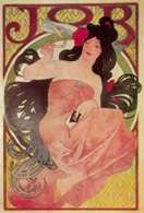 Secesja, Alfons Maria Mucha, plakat reklamujący bibułki papierosowe Job, 1897 /Encyklopedia Internautica