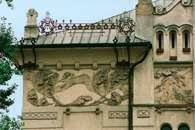 Secesja, dekoracja Teatru Starego w Krakowie /Encyklopedia Internautica