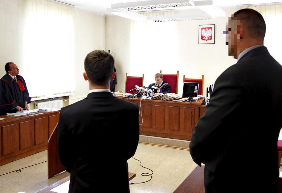 Sędzia Adam Mainka-Pawłowski odczytuje wyrok ws. byłego oficera ABW Grzegorza S. /Andrzej Grygiel /PAP