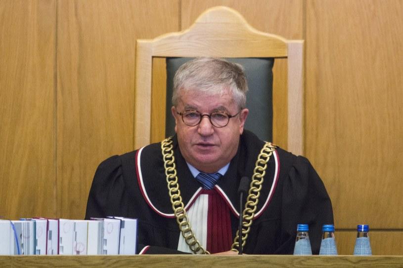 Sędzia Andrzej Wróbel /Andrzej Hulimka/Reporter /East News