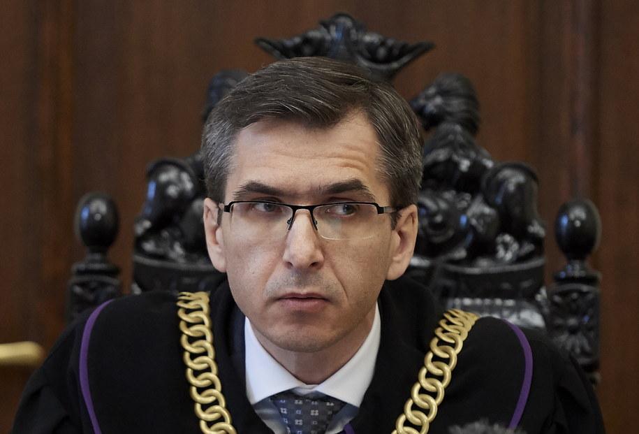 Sędzia Marek Kapała na sali rozpraw Sądu Okręgowego w Gdańsku /PAP