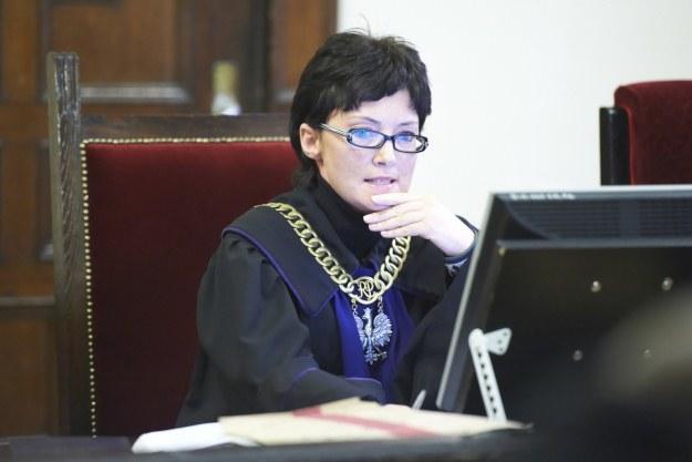 Sędzia podczas odczytywania wyroku /PAP